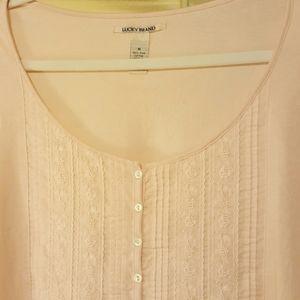 Sz Med Lucky Brand cotton top